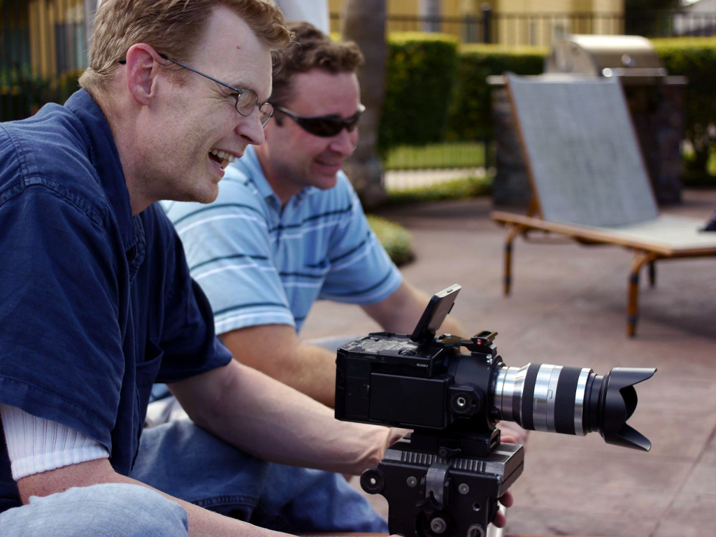 Sony FS-100 video shoot with Derrick Perrin and Jeff Durrwachter