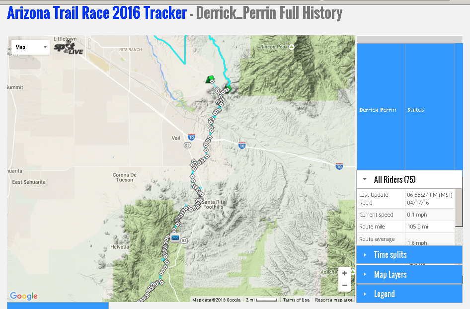 Arizona Trail Race 2016