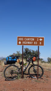 Hog Canyon Sign