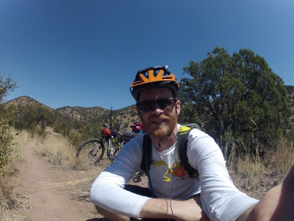 Derrick Perrin on Arizona Trail