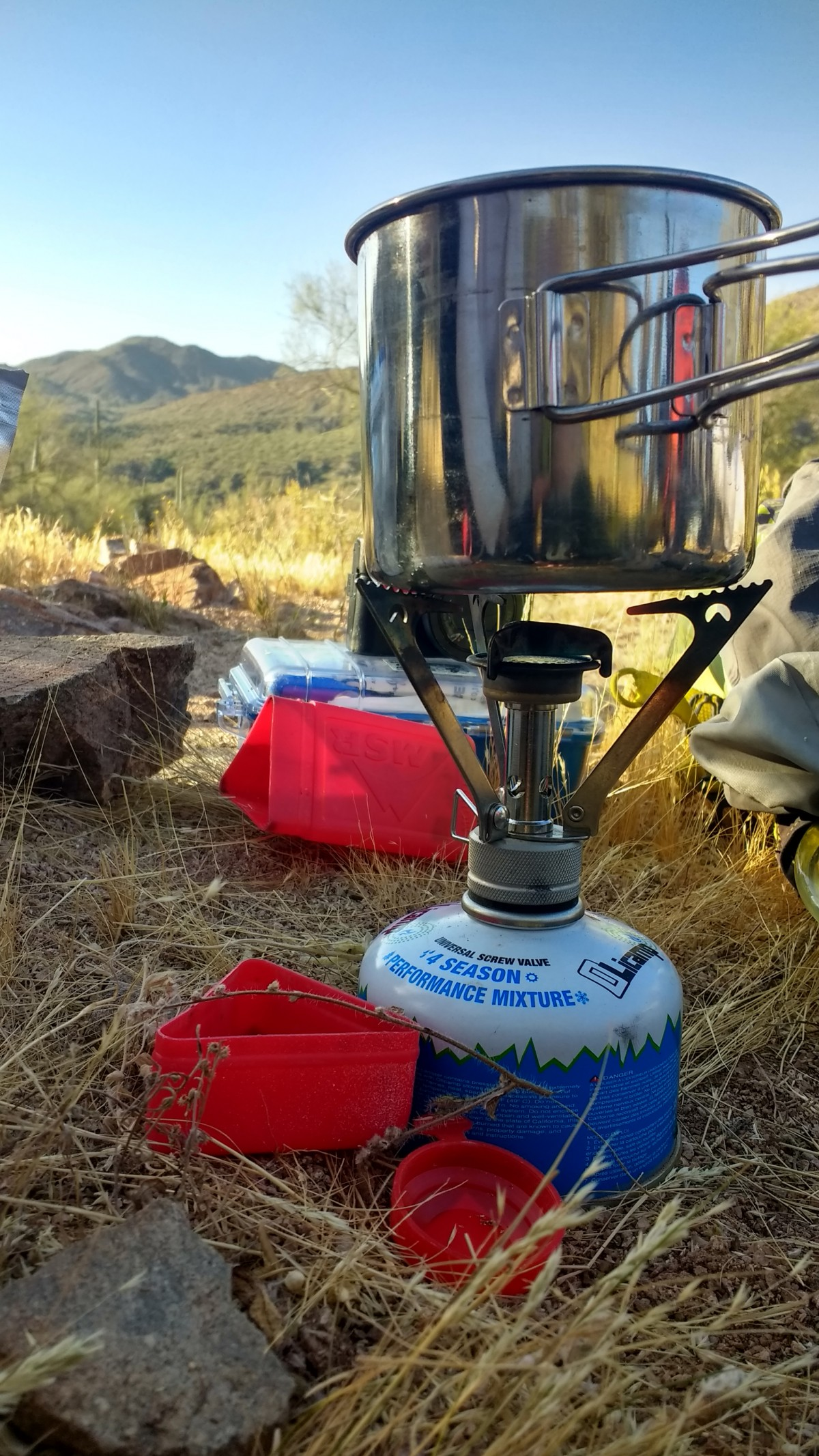 Coffee on the Arizona Trail