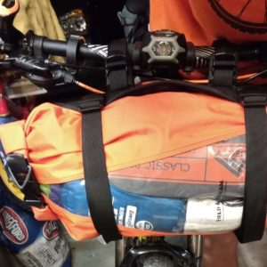 bike packing handle bar bag